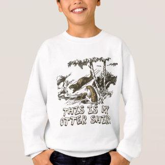 Loutre de mer drôle sweatshirt