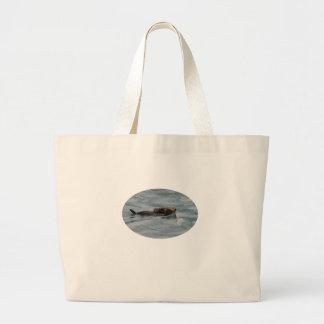 loutre de mer sacs en toile