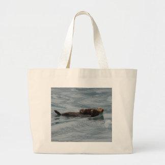 Loutre de mer sac de toile