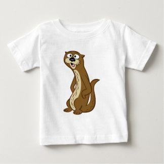 Loutre de Rick   Reggie de garde forestière T-shirt Pour Bébé