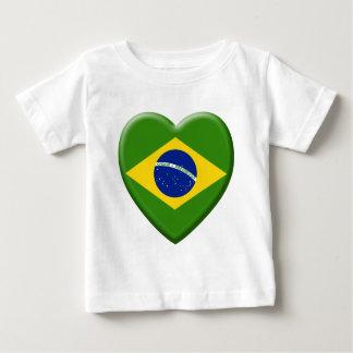 Love Brésil T-shirt Pour Bébé