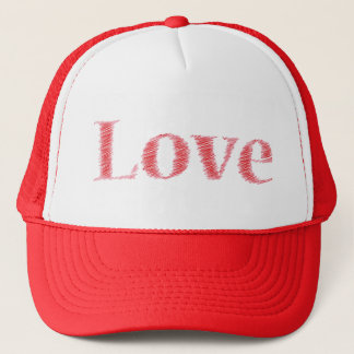 LOVE chapeau casquette de camionneur