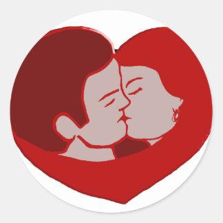 LOVE création louis RUNEMBERG Adagp Sticker Rond