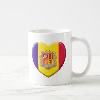 Love drapeau Andorre Tasse