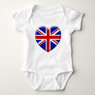 love drapeau Angleterre Body