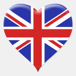 Drapeau anglais autocollants stickers drapeau anglais - Drapeau rouge avec drapeau anglais ...