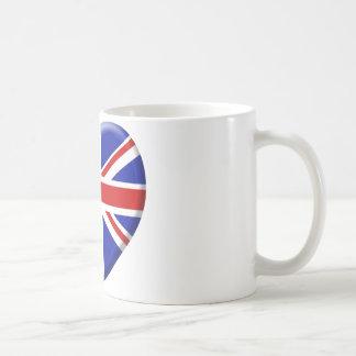 love drapeau Angleterre Mugs À Café