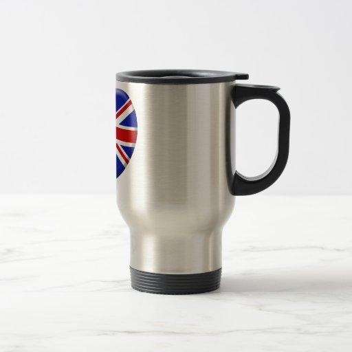 love drapeau Angleterre Tasses
