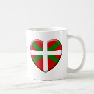 love drapeau pays Basque Mug
