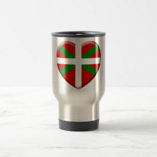 love drapeau pays Basque Mug De Voyage