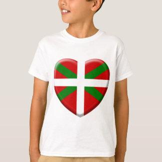 love drapeau pays Basque T-shirt