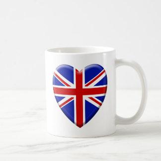 love drapeau Royaume-uni Angleterre Mugs