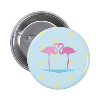 Love Flamingos Badges