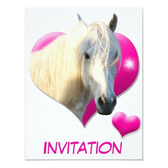 Love Horse Invitation