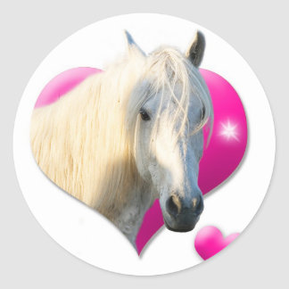 Love Horse Stickers