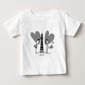 Love in Biarritz T-shirt Pour Bébé