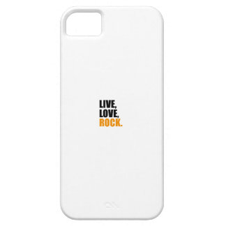 love jouer du rock en direct iPhone 5 case