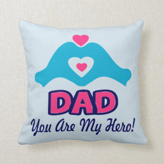❤↷Love vous papa, vous êtes mon jet fabuleux de Oreillers