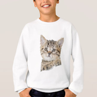 Low poly chaton sweatshirt