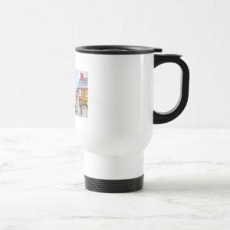 Lowry a inspiré le tram de peinture de scène de ru mug