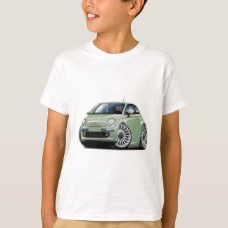 Lt Green Car de Fiat 500 T-shirt