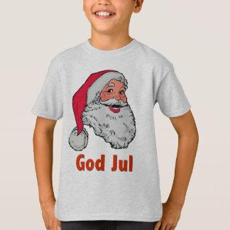Lt T-Shirt suédois/de Norvégien Père Noël