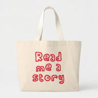 Lu m'une histoire ! sacs
