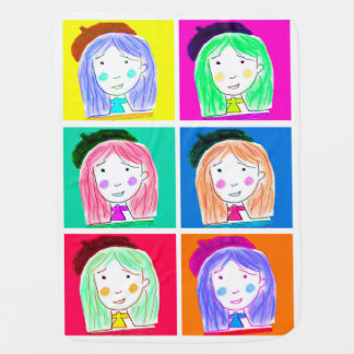Lu-Pop-Art (Couverture tu bois) Couverture De Bébé