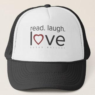 lu. rire. amour casquette