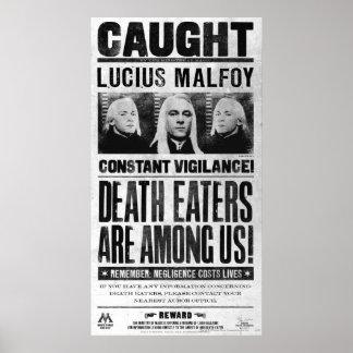 Lucius Malfoy a voulu l affiche