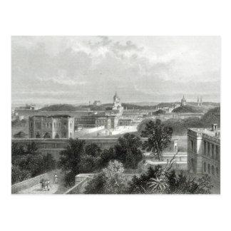 Lucknow, gravé par E.P Brandard, c.1860 Carte Postale