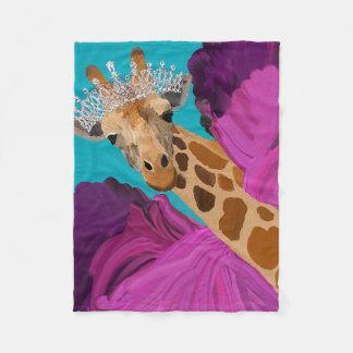 Lucy la couverture de girafe