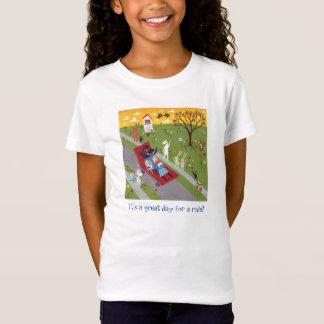 Lucy le T-shirt de voisinage de saucisses de