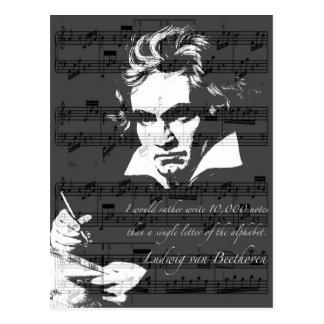 Ludwig van Beethoven Carte Postale