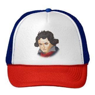 Ludwig van Beethoven dans le Cartoon style Casquettes