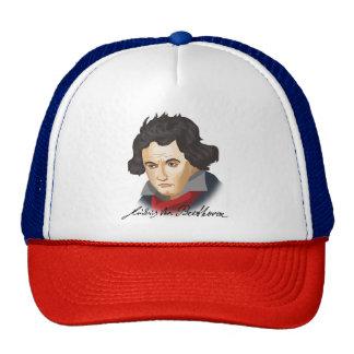 Ludwig van Beethoven dans le Cartoon style Casquettes De Camionneur