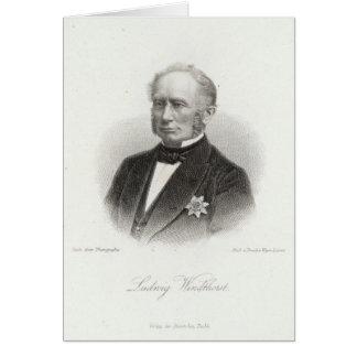 Ludwig Windthorst Carte De Vœux