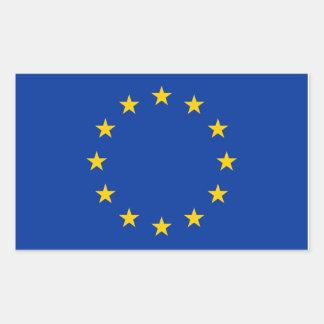 L'UE diminuent Sticker Rectangulaire