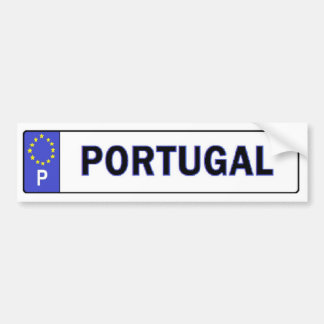 L'UE du Portugal autorisent l'autocollant Autocollant De Voiture