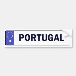 L'UE du Portugal autorisent l'autocollant Adhésif Pour Voiture