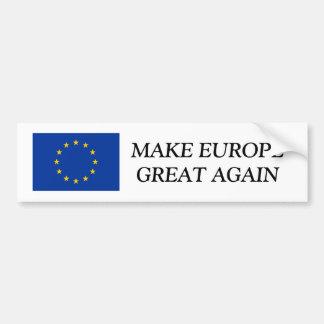 L'UE marquent l'adhésif pour pare-chocs que | Autocollant De Voiture