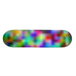 Lueur d'arc-en-ciel skateboards