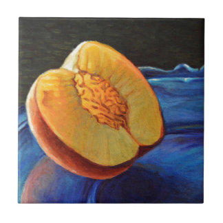 Lueur de nectarine carreau