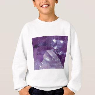 lueur pourpre de pierre sweatshirt