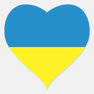 L'Ukraine Sticker Cœur