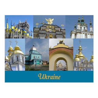 L'Ukraine Carte Postale