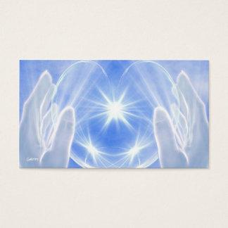 Lumière curative cartes de visite