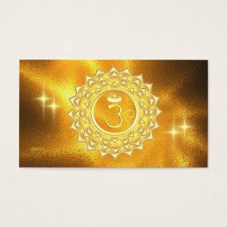 Lumière curative universelle cartes de visite