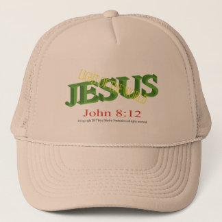 Lumière de Jésus du casquette de