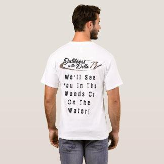 Lumière de l'eau en bois de Camo T-shirt